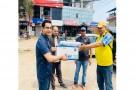 नेपाल पत्रकार महासङ्घ गण्डकीद्वारा पत्रकारलाई सुरक्षा सामग्री प्रदान