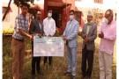 कुमारी बैंकले गर्याे कर्णालीकाे विपद कोषमा १० लाख सहयोग
